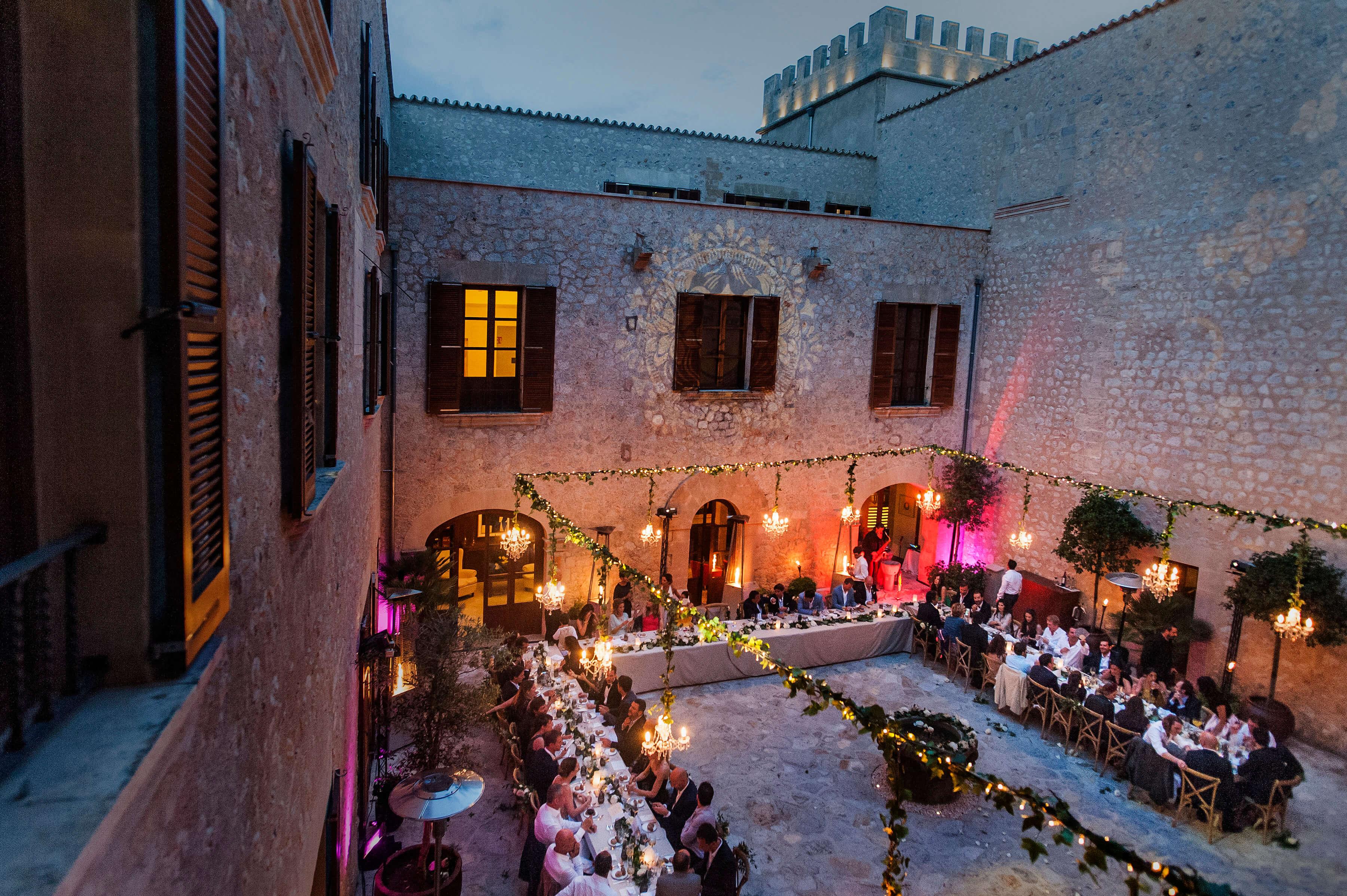 Bodas de lujo en Mallorca