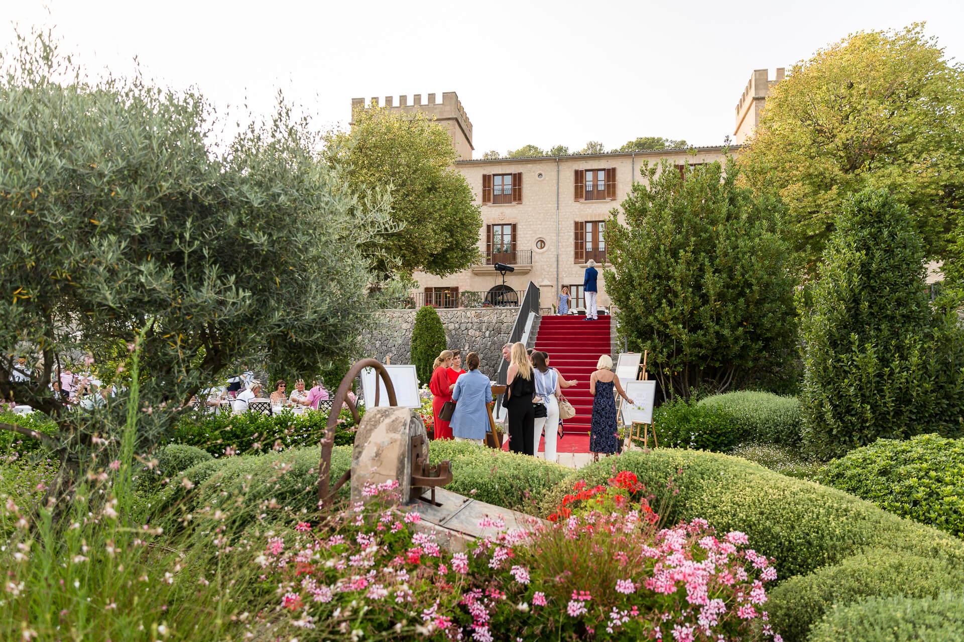 Eventos de lujo en Mallorca, Castell Son Claret (3)