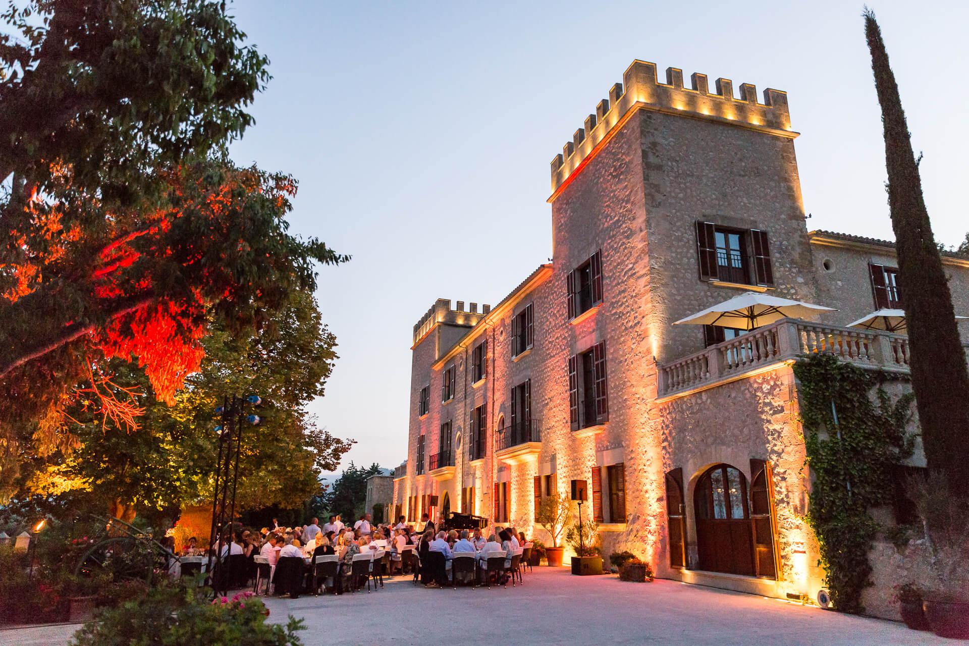 Eventos de lujo en Mallorca, Castell Son Claret (4)