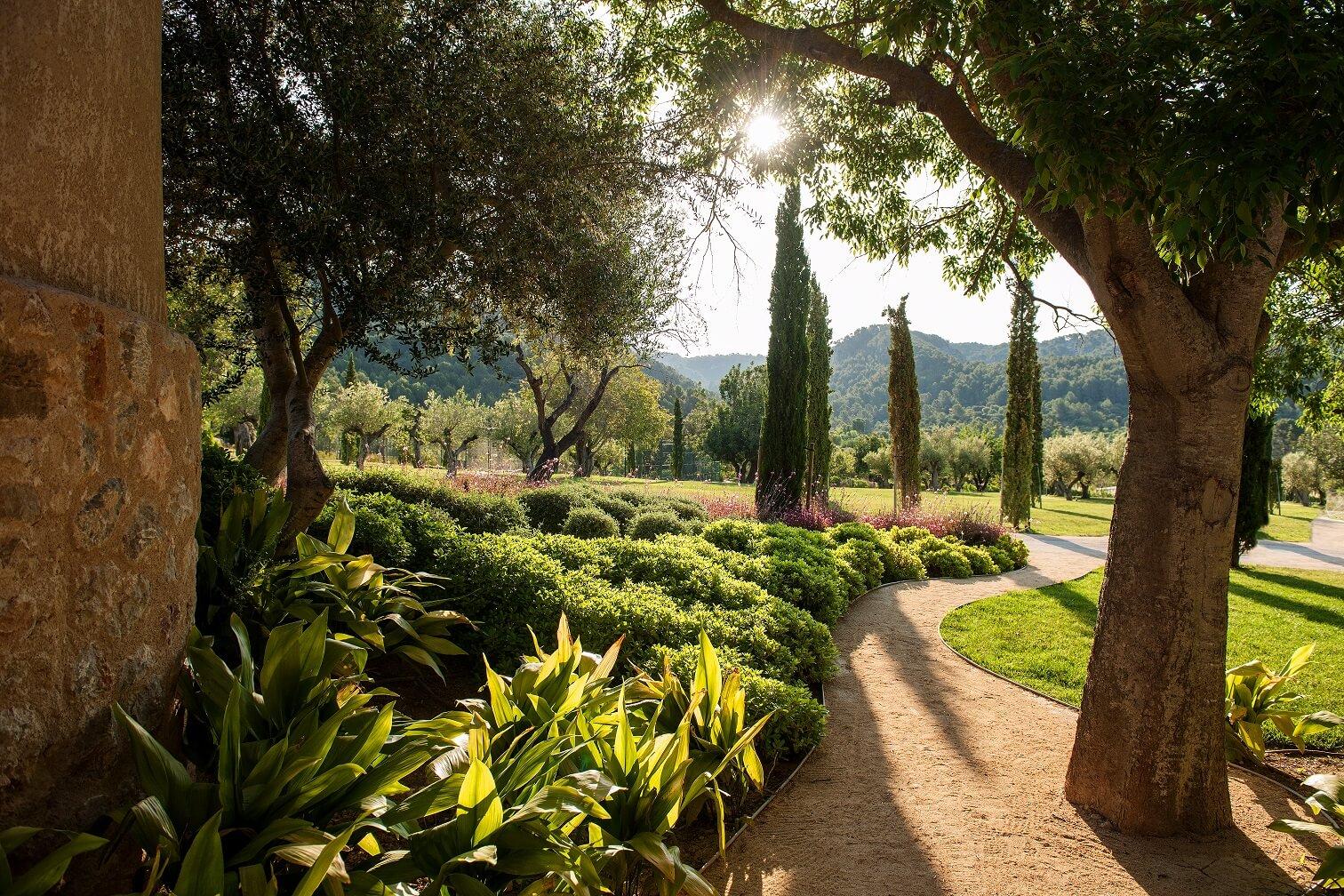 Naturaleza de Mallorca en el Hotel de lujo Castell son Claret (2)