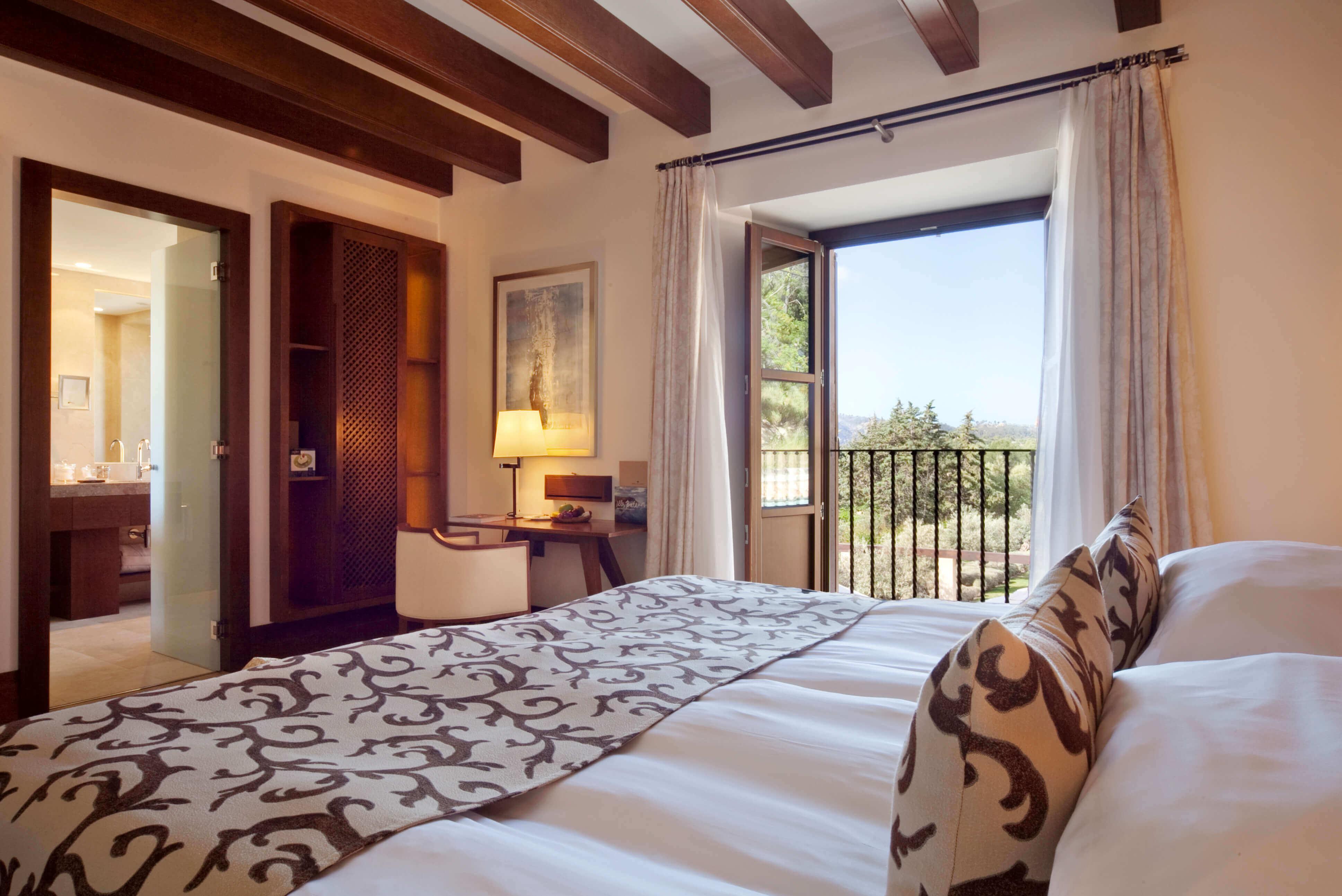 Suites y Habitaciones del Hotel de lujo en Mallorca, Castell Son Claret (1)