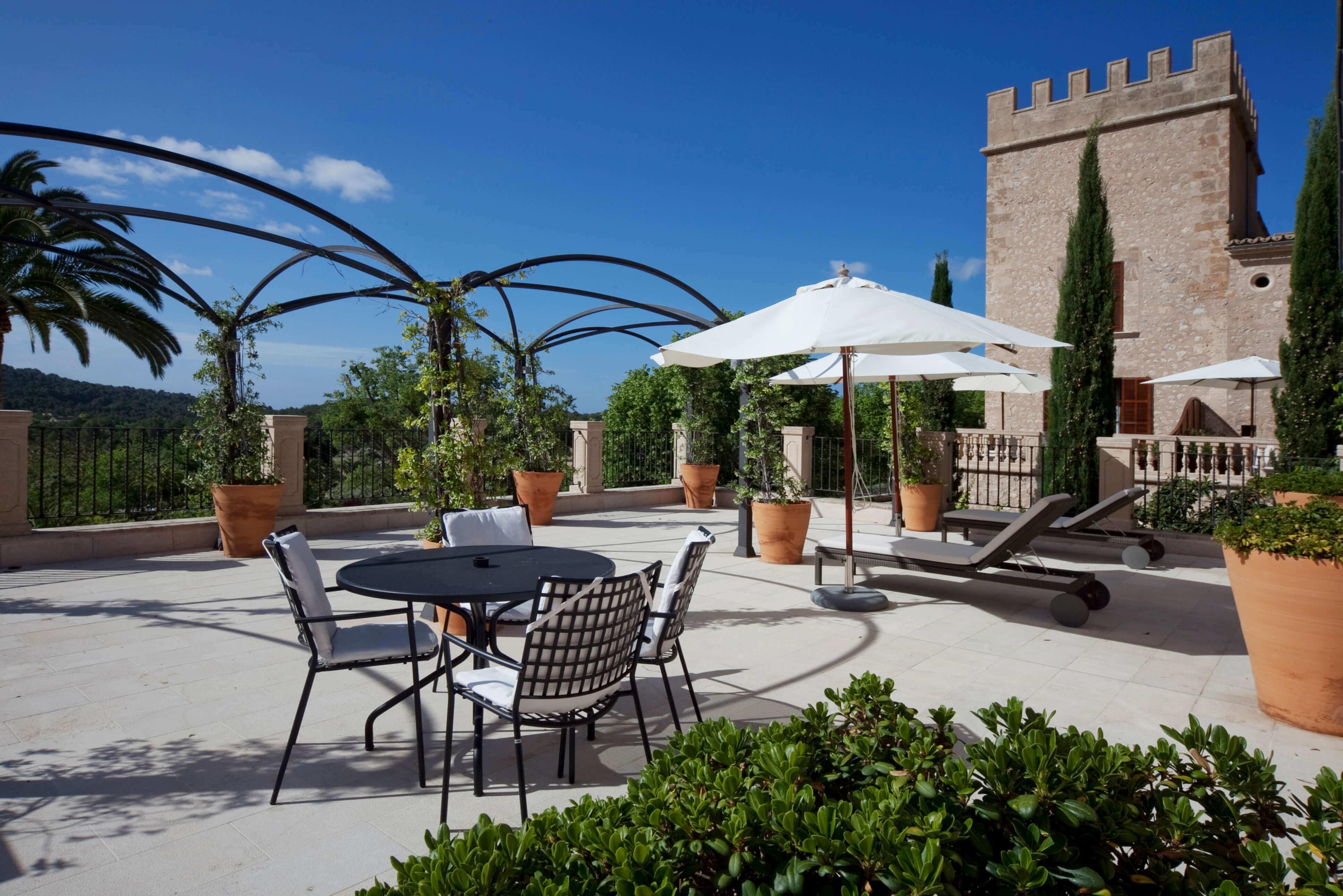 Suites y Habitaciones del Hotel de lujo en Mallorca, Castell Son Claret (16)