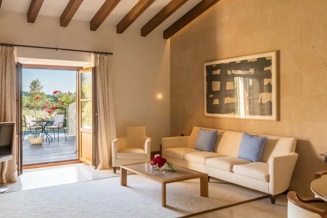 Hoteles de lujo Mallorca, Castell Son CLaret, Suites de lujo con piscina (2)