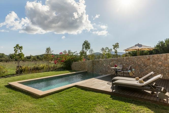 Hoteles de lujo Mallorca, Castell Son CLaret, Suites de lujo con piscina (6)