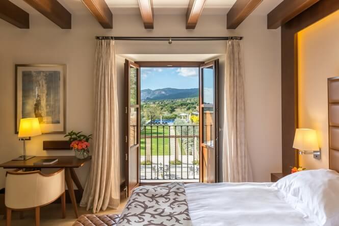 Deluxe Doubles, Castell Son Claret Luxury Hotel Mallorca (4)