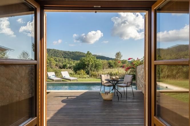 Hoteles de lujo Mallorca, Castell Son CLaret, Suites de lujo con piscina (3)