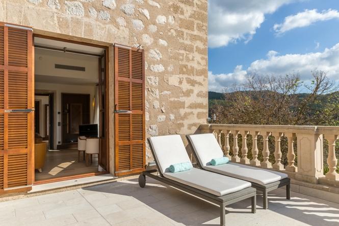 Luxushotel Mallorca, Luxus Suiten, Castell Son Claret (1)