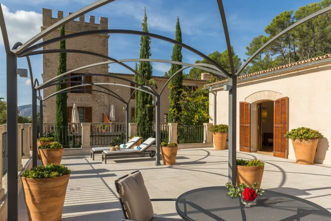 Luxushotel Mallorca, Luxus Suites, Castell Son Claret (3)