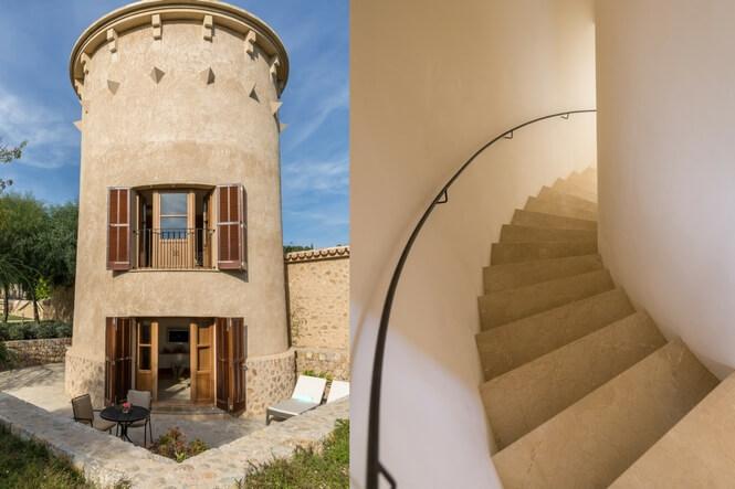 Water Tower Duplex, Castell Son Claret, Luxushotel Mallorca (6)