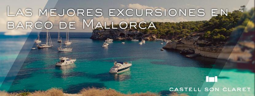 Las mejores excursiones en barco en Mallorca