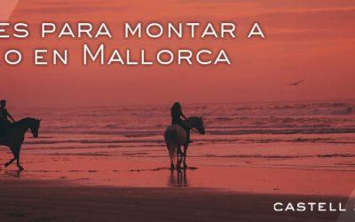 Rutas para montar a caballo en Mallorca