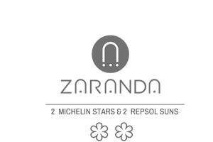 The logo of Restaurant Zaranda, which was awarded with two Michelin stars