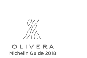 The logo of Restaurant Olivera, which was included in the Michelin Guide in 2018