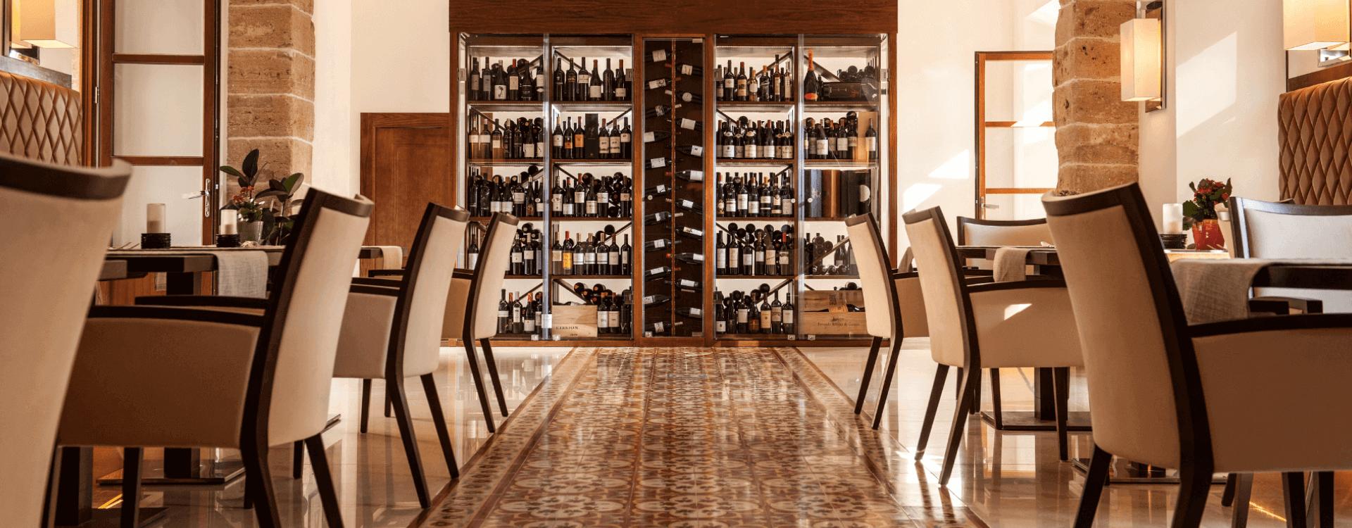 Olivera Restaurant Castell Son Claret, Mallorca